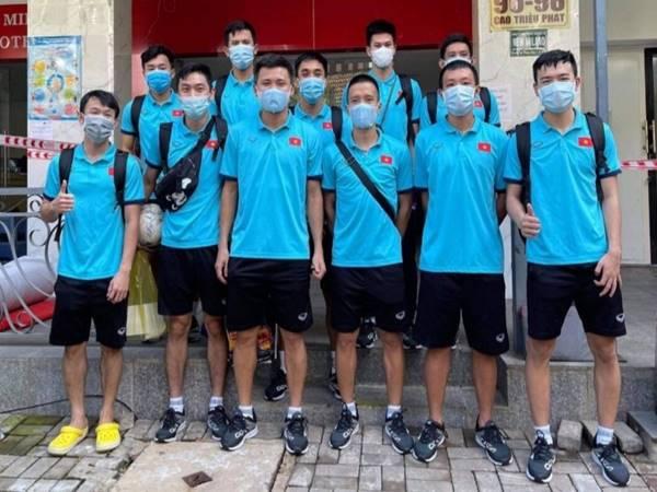 Bóng đá VN 18/6: Đội tuyển futsal Việt Nam hoàn tất cách ly