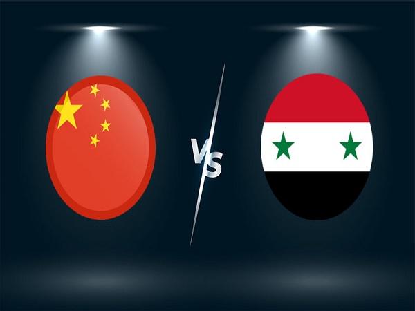 Nhận định Trung Quốc vs Syria – 01h00 16/06/2021, VL World Cup 2022